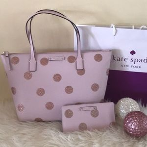 LAST ONE FINAL PRICE Kate spade ♠️ bag, wallet set